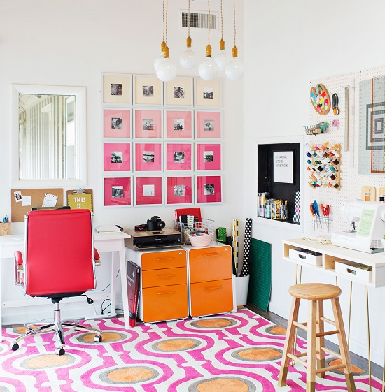 Lindo home office colorido2 1
